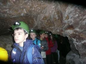 IV oš Vž u rudniku u Rudama 28.03.15.