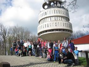 Vrtić Dječji svijet na vrhu Medvednice 25.04.15.