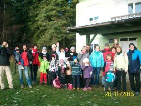 Vrtić Dječji svijet sa roditeljima na Ravnoj gori 27.11.15.